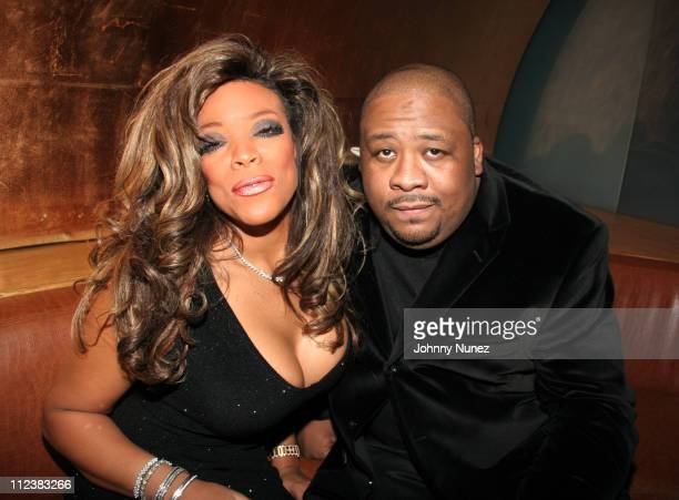 Wendy Williams and Scott Poulson Bryant during Wendy Williams presents Dons and Diva's Black Party Hosted by Mary J Blige Inside at Crobar in New...