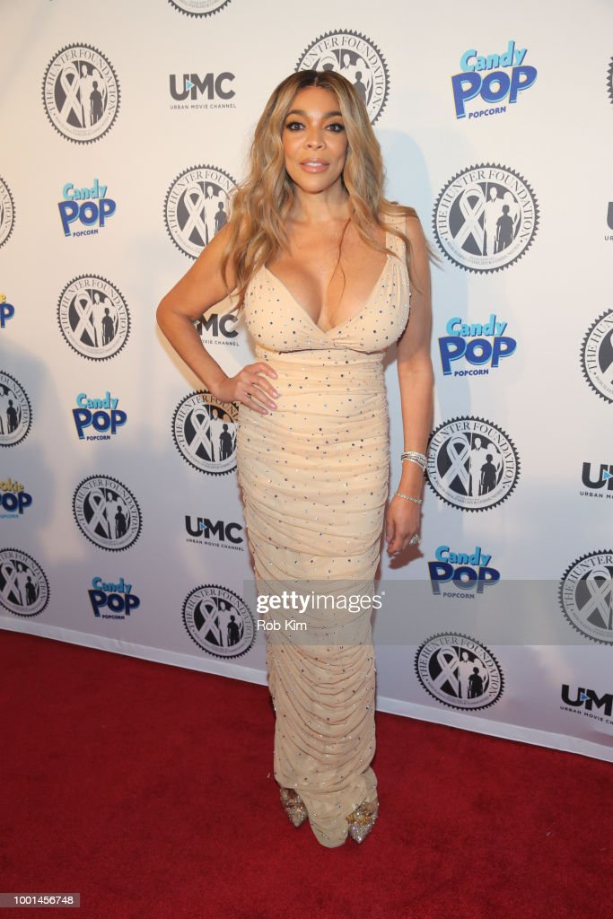 Wendy Williams attends 2018 The Hunter Foundation Gala at Hammerstein Ballroom on July 18, 2018 in New York City.