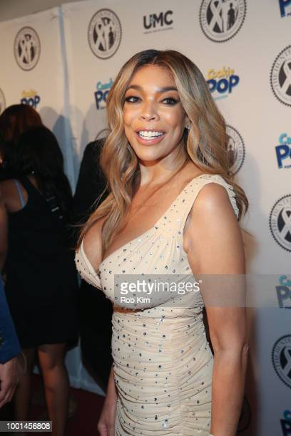 Wendy Williams attends 2018 The Hunter Foundation Gala at Hammerstein Ballroom on July 18 2018 in New York City
