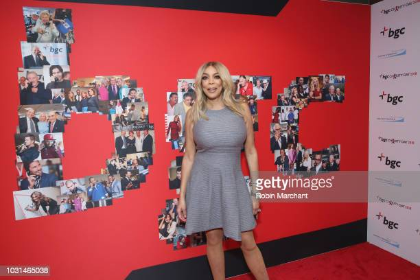 Wendy Williams attends Annual Charity Day hosted by Cantor Fitzgerald BGC and GFI at BGC Partners INC on September 11 2018 in New York City