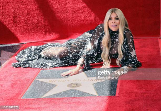 Wendy Williams attends her being honored with a Star on the Hollywood Walk of Fame on October 17 2019 in Hollywood California
