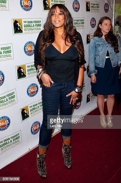 Wendy Williams attends the 2010 Celebrity Skee Ball Tournament to benefit the Dian Fossey Gorilla Fund International at Dave and Busters in New York...