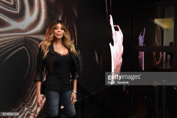 Wendy Williams attends the 50th anniversary celebration of Wilhelmina with cohost Patti Hansen on November 14 2017 in New York City