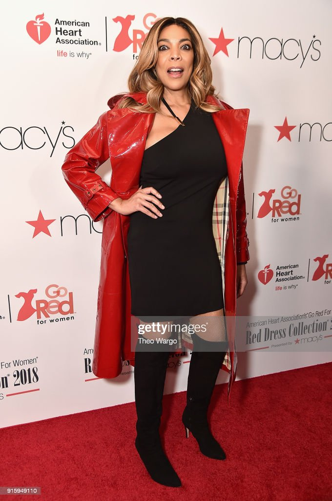 The American Heart Association's Go Red For Women Red Dress Collection 2018 Presented By Macy's - Arrivals & Front Row : News Photo