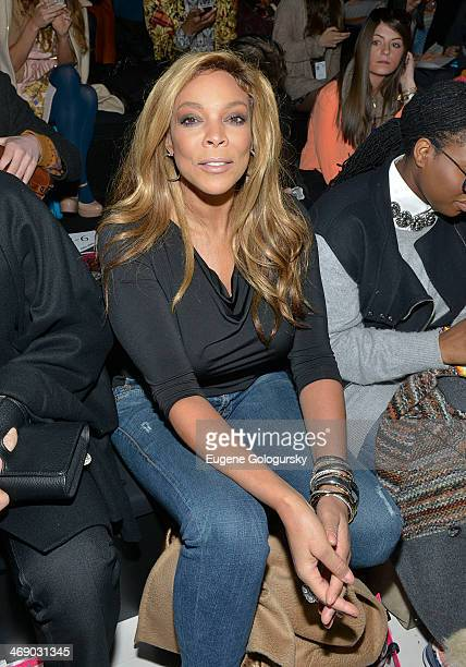 Wendy WIlliams attends the Betsey Johnson Show during MercedesBenz Fashion Week Fall 2014 at The Salon at Lincoln Center on February 12 2014 in New...