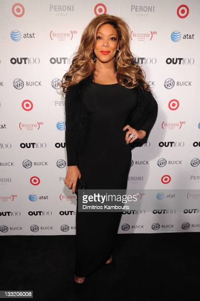 Wendy Williams attends the OUT celebration of The OUT100 at Skylight Soho on November 17 2011 in New York City