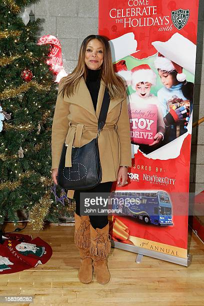 Wendy Williams attends The Police Athletic League And CitySights NY Holiday Party And Toy Drive at PAL's Harlem Center on December 15 2012 in New...