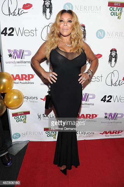 Wendy Williams attends Wendy Williams 50th birthday celebration at Out Hotel on July 17 2014 in New York City