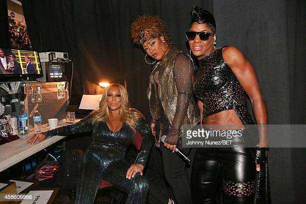 Wendy Williams Da Brat and Pamela Long attend Centric Presents The 2014 Soul Train Awards on November 7 2014 in Las Vegas Nevada