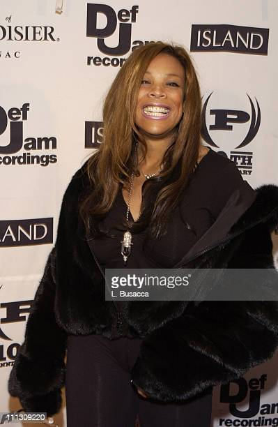 Wendy Williams during The Island Def Jam/Courvoisier Holiday/Charmbracelet Release Party at Capitale in New York City New York United States