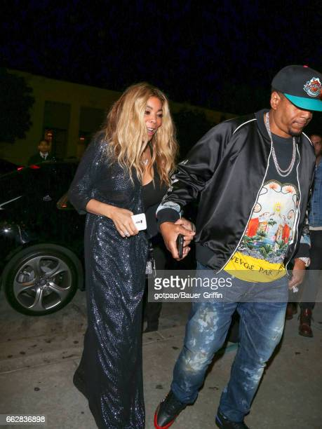 Wendy Williams is seen on March 31 2017 in Los Angeles California