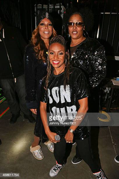 Wendy Williams Lady of Rage and MC Lyte attend Centric Presents The 2014 Soul Train Awards on November 7 2014 in Las Vegas Nevada