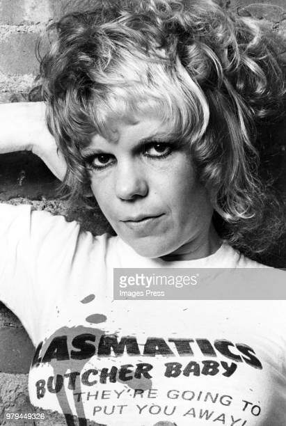 Wendy Williams of the Plasmatics circa 1977 in New York