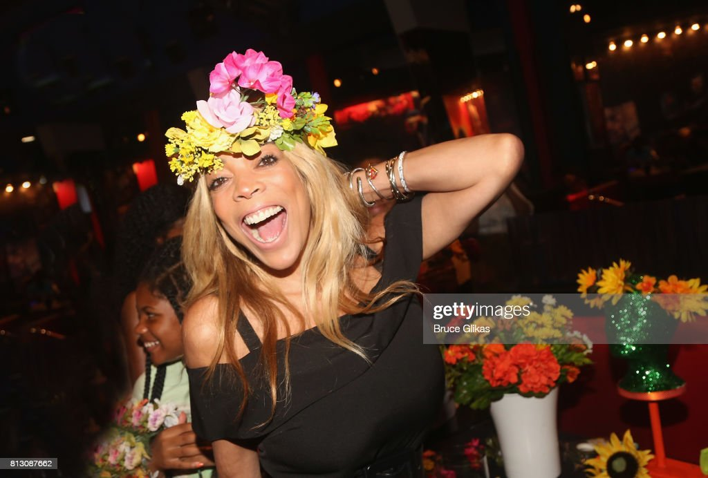 Wendy Williams poses at a celebration for her Hunter Foundation Charity that helps fund programs for families and youth communities in need of help and guidance at Planet Hollywood Times Square on July 11, 2017 in New York City.