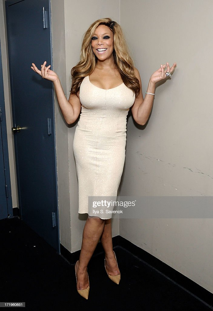 Wendy Williams poses backstage at The NYC 2013 Mega Gay Pride Event at Hammerstein Ballroom on June 29, 2013 in New York City.