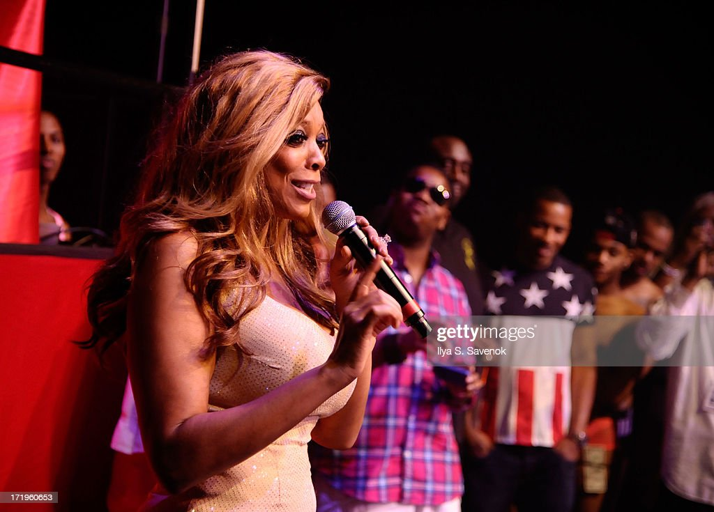 Wendy Williams speaks at The NYC 2013 Mega Gay Pride Event at Hammerstein Ballroom on June 29, 2013 in New York City.