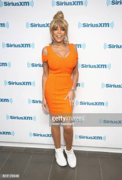 Wendy Williams visits at SiriusXM Studios on July 26 2017 in New York City