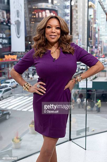 Wendy Williams visits Extra at their New York studios at HM in Times Square on January 21 2015 in New York City