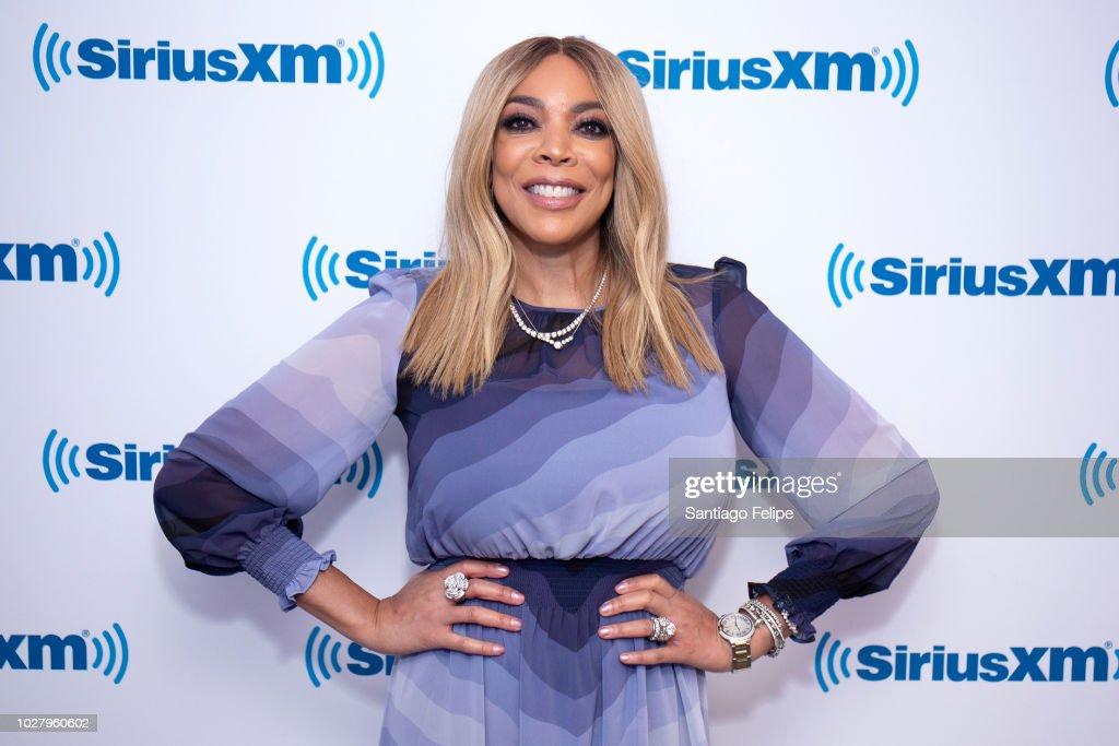 Celebrities Visit SiriusXM - September 6, 2018 : News Photo