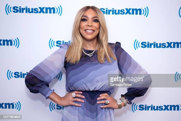 Wendy Williams visits SiriusXM Studios on September 6 2018 in New York City