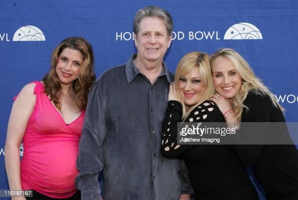 Wendy Wilson Brian Wilson Carnie Wilson and Chynna Phillips
