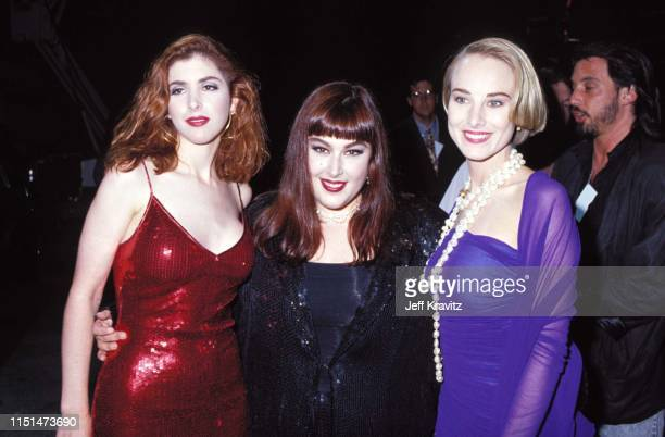 Wendy Wilson Carnie Wilson And Chynna Phillips at the 1991 MTV Video Music Awards at in Los Angeles California
