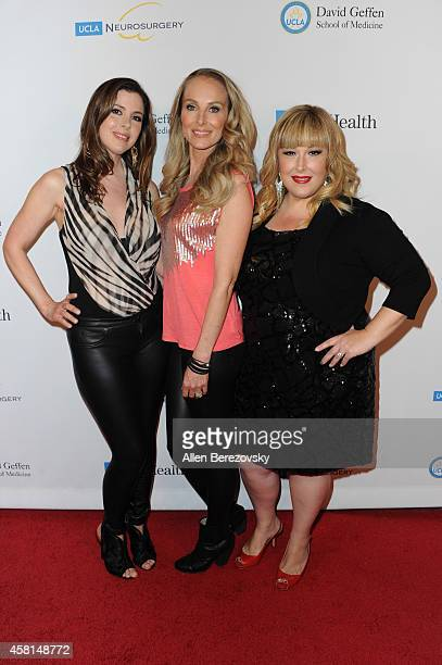 Wendy Wilson Chynna Phillips and Carnie Wilson of Wilson Phillips attend UCLA's 2014 Visionary Ball benefiting the Department of Neurosurgery at the...