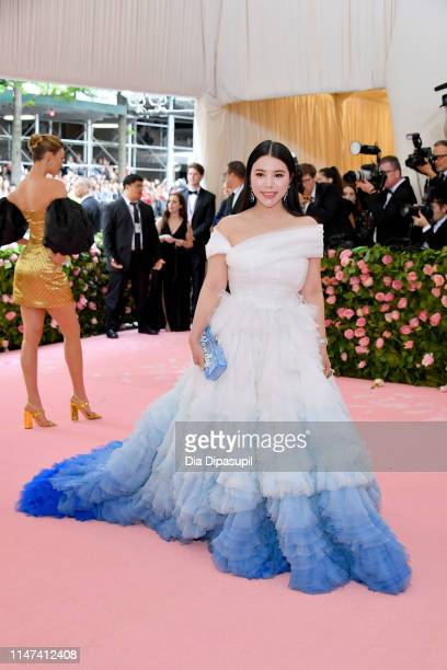 Wendy Yu attends The 2019 Met Gala Celebrating Camp Notes on Fashion at Metropolitan Museum of Art on May 06 2019 in New York City