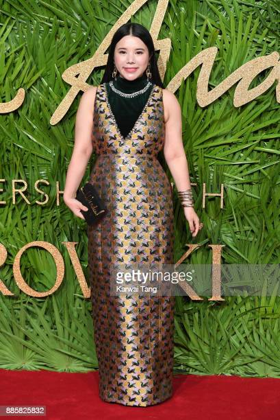 Wendy Yu attends The Fashion Awards 2017 in partnership with Swarovski at Royal Albert Hall on December 4 2017 in London England