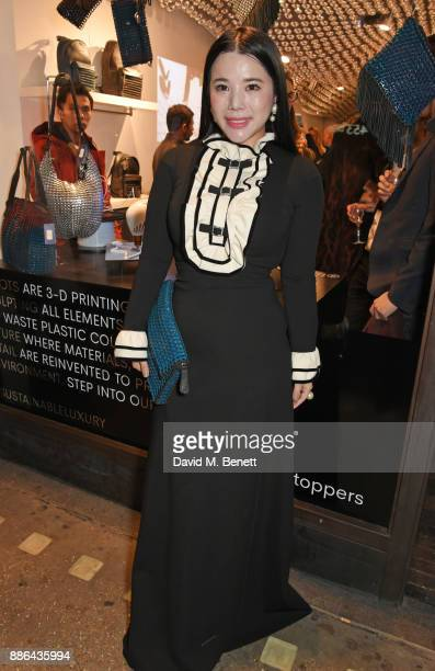 Wendy Yu attends the opening of the BOTTLETOP flagship store on Regent Street on December 5 2017 in London England