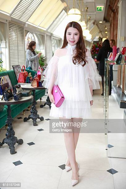 Wendy Yu attends 'Wendy Yu x Ethan K' at Harrods on October 12 2016 in London England