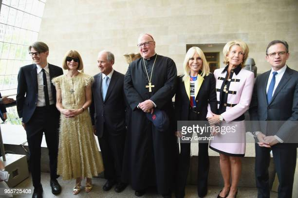 Wendy Yu Curator in Charge of The Costume Institute Andrew Bolton Anna Wintour Chairman and CEO Founder of Blackstone Stephen A Schwarzman His...