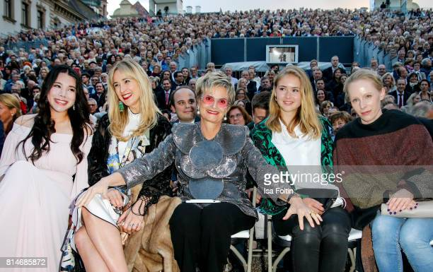 Wendy Yu Elisabeth von Thurn und Taxis her mother Gloria von Thurn und Taxis Laetitia von SchoenburgGlauchau and Austrian actress Susanne Wuest...