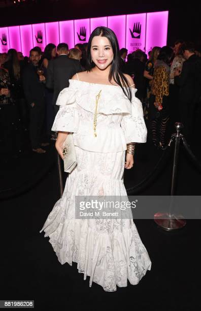 Wendy Yu wearing Bulgari attends CLUB LOVE for the Elton John AIDS Foundation in association with BVLGARI on November 29 2017 in London England