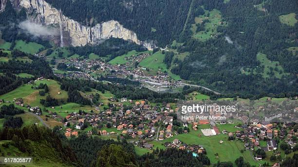Wengen and Lauterbrunnen, Berner Oberland