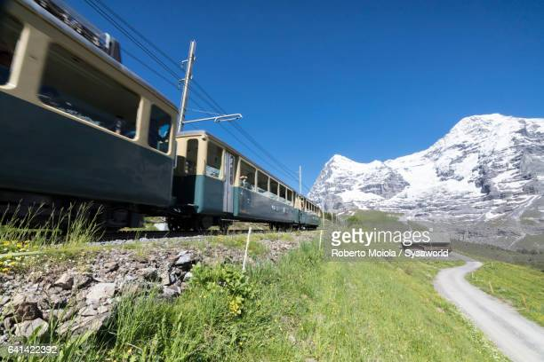 Wengernalpbahn rack railway Switzerland