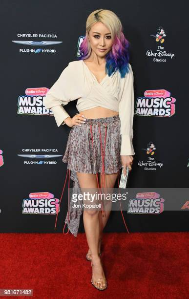 Wengie attends the 2018 Radio Disney Music Awards at Loews Hollywood Hotel on June 22 2018 in Hollywood California
