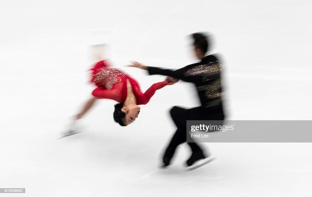 ISU Grand Prix Of Figure Skating - Day 2