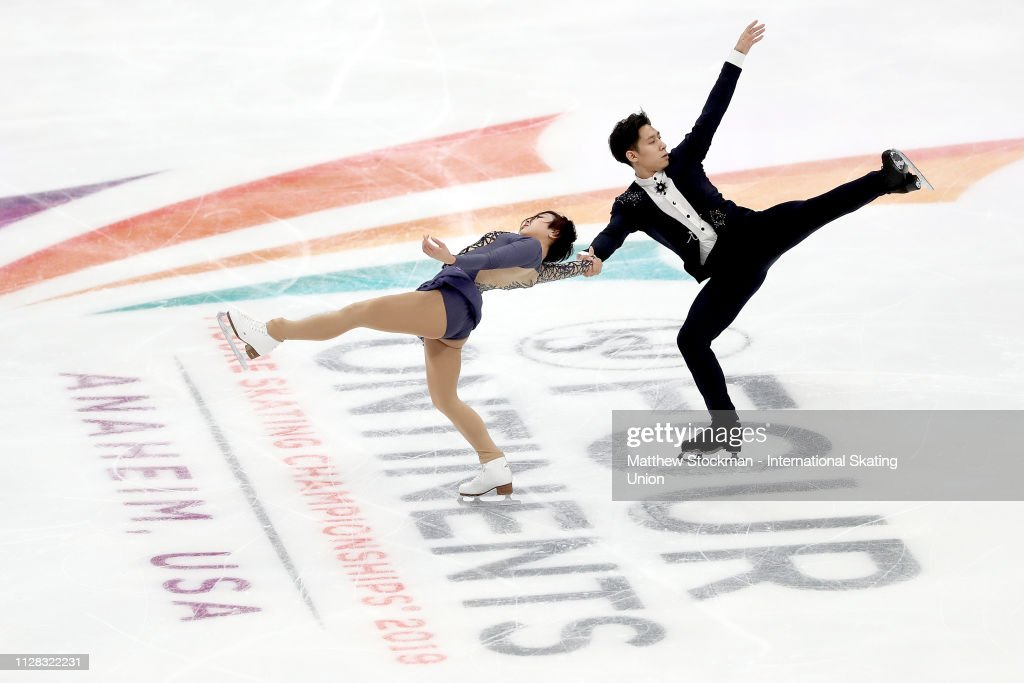 ISU Four Continent Figure Skating Championships Anaheim : Nieuwsfoto's