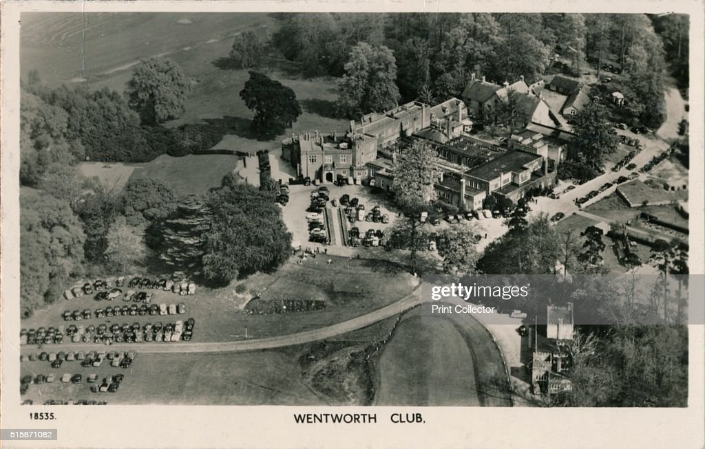 Wentworth Club', c1940 : News Photo