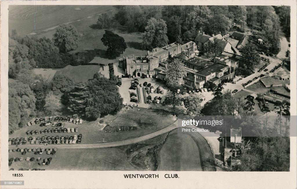 Wentworth Club', c1940 : Nachrichtenfoto