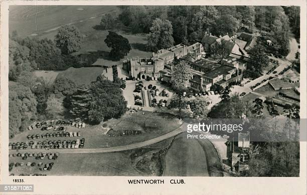 Wentworth Club' circa 1940 Wentworth Club a privately owned golf club and health resort in Virginia Water Surrey The golf club was founded in 1926...
