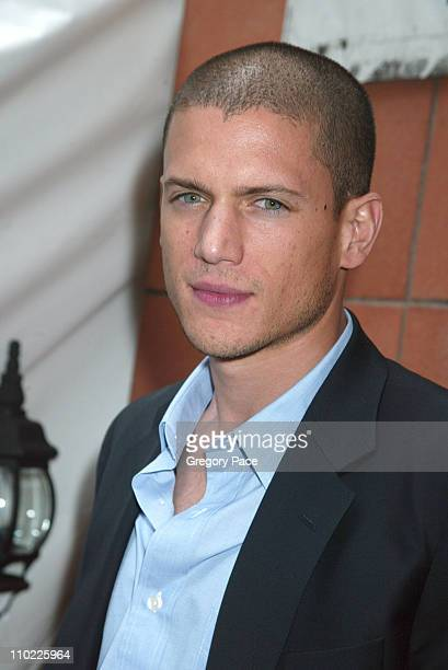 Wentworth Miller during 2005/2006 FOX Prime Time UpFront Inside Green Room and Party at Seppi's Restaurant and Central Park Boathouse in New York...