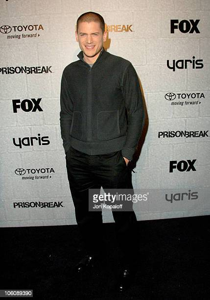 Wentworth Miller during Prison Break End of Season Screening Party at Fox Lot in Los Angeles California United States