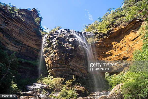 Wentworth waterfall, Blue mountains National Park