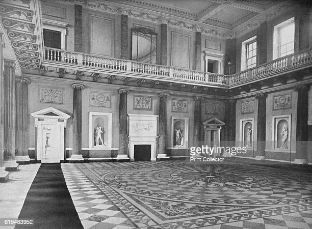 Wentworth Woodhouse, Yorkshire - The Earl Fitzwilliam', 1910. Wentworth Woodhouse is a Grade I listed country house in the village of Wentworth, near...