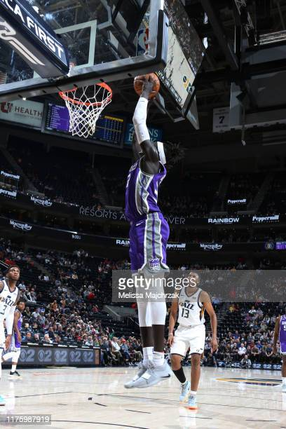 Wenyen Gabriel of the Sacramento Kings shoots the ball against the Utah Jazz on October 14 2019 at vivintSmartHome Arena in Salt Lake City Utah NOTE...