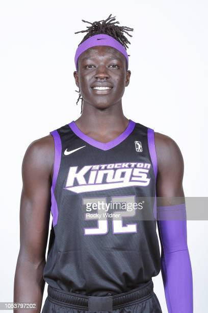 Wenyen Gabriel of the Stockton Kings poses for a head shot during the NBA GLeague media day on October 25 2018 at Stockton Kings Practice Facility in...