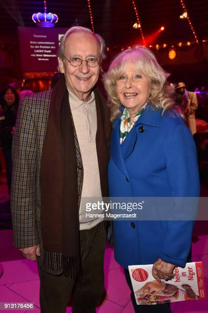 Wera Klaus and Wilfried Klaus during Circus Krone celebrates premiere of 'Hommage' at Circus Krone on February 1 2018 in Munich Germany
