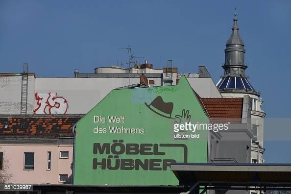 werbung moebel huebner bundesallee friedenau berlin deutschland news photo getty images